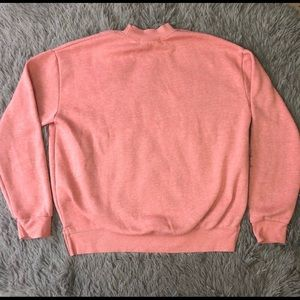 Primark Tops - Primark Blush Pink French Floral Sweatshirt Sz 10